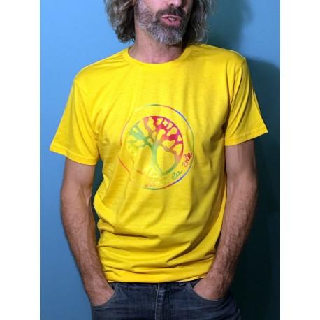 VIBRATION - T-shirt col rond - Logo arc en ciel