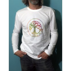 GANGE - T-shirt ML - Arc en ciel