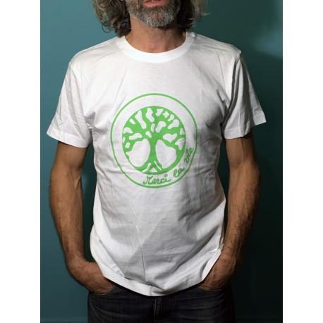 ABONDANCE - T-shirt MC col rond - Logo vert