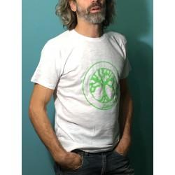 CHIC - T-shirt col rond - Logo vert