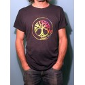 CHIC - T-shirt col rond - Logo Arc en ciel