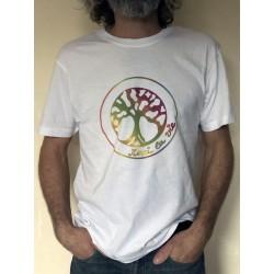 ABONDANCE - T-shirt MC col rond - Logo Arc en ciel