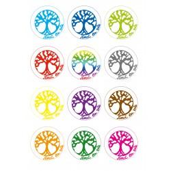 Planche de symboles Merci La Vie à imprimer sur papier autocollant (PDF)