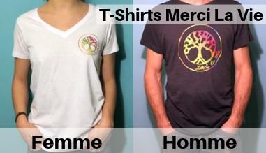 T-Shirts Merci La Vie